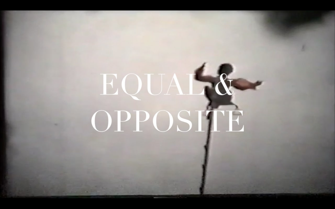 Equal & opposite poster